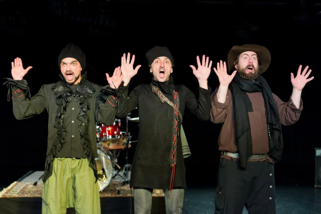 Die drei Räuber - theater fayoum und Maik Evers